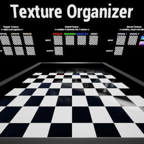 Pack, scale, rename & organize your textures with one click.