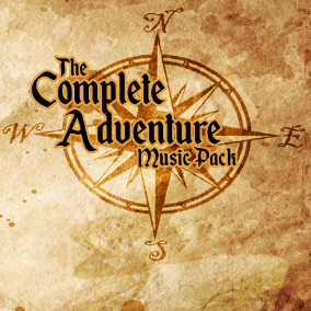 Fantasy Adventure Themed Orchestral & Electronic Music Pack - 18 Individual Tracks!