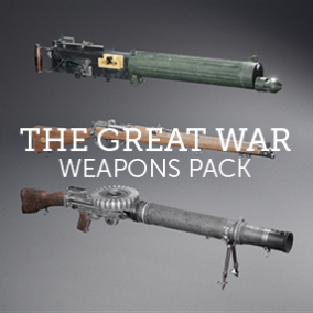 The Great War Weapons Pack is a collection of famous weaponry of the British Empire.