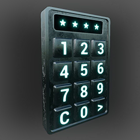 The Keypads allow you to create access mechanisms for any Blueprint