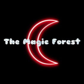 The magic forest is a project full of mystery, in search of opportunities, a magic composition, imagine animals and magical creatures inside a forest, hear the river pass while the animals run