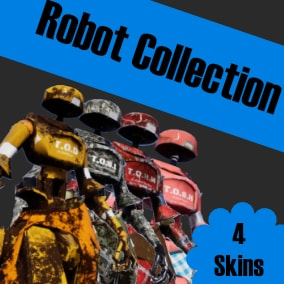 Meet The Original collection of Robots! The do-it-all robots of the future! 1 base model character with 4 different material sets.