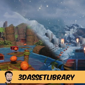A fun Platform pack with 3 areas to give you an idea of how the pack can be used which includes over 40 unique assets for Unreal Engine 4.20+
