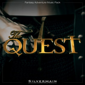 The Quest Music Pack contains 20 tracks composed from a single, massive virtual orchestra.
