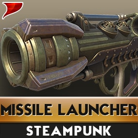 Steam Missile Launcher all kinds of unique VFX/SFX And Animations.