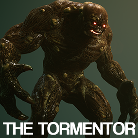 The Tormentor is a creature created to suit your spooky needs!