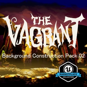 "2D Background assets from ""The Vagrant"""