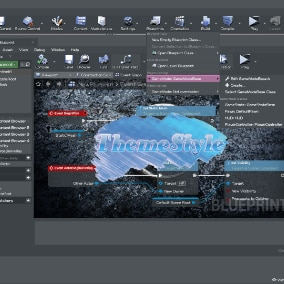 Custom theme styles for Unreal Editor.