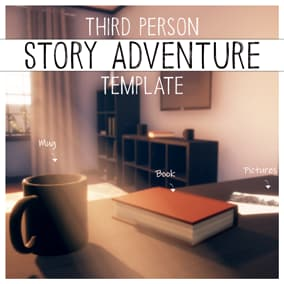 A framework for creating story-based games with environmental interactions, dialogues and more.