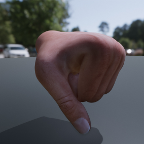 A set of VR-ready hands, for use with EPICs VR-template.