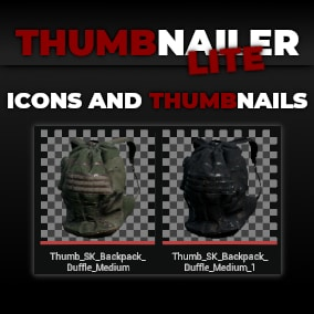 Create Thumbnails & Icons In Unreal Engine 4