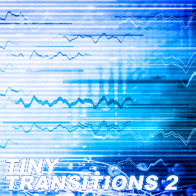 """Tiny Transitions 2 – Designed Sounds"" is the successor to the very popular Tiny Transitions sound effects library: instant sonic support for all kinds of small animations, motion graphics, pass-bys, menues, projectiles, ..."