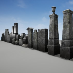 Old Tombstones - for every types of games