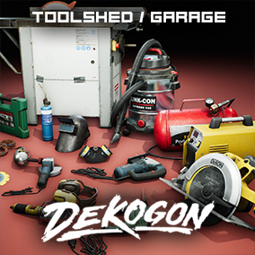 A collection of power tools and other builders tools parts found in a Toolshed