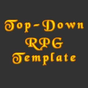 TopDown RPG Template provides lots of functionalities to help you create RPG games in Top Down view.