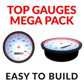 High Quality Gauges pack contain over 30 .fbx objects, Gauges, Pointers, Pins, and Glasses.