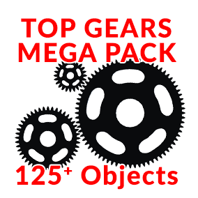 Boost your level design in minutes with animated Gears Mega Pack!