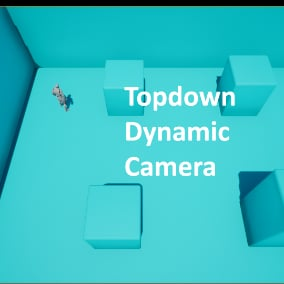 Collision-based camera system including a room transition. Works for any number and shape of rooms, with a single camera.