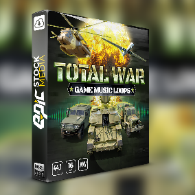 41 music loops included - Total War Game Music Loops is a music loop library created to fulfill your action and adventure appetite.