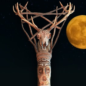 Wood Totems Pagan Deities