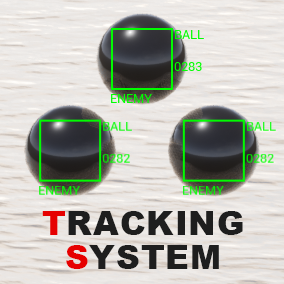 This system automatically tracks a target within radar range and displays as a marker.