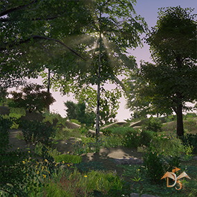 """Trees and plants for Mobile"" is primarily target at mobile platforms and devices. It includes 296 models of deciduous trees and other plants that will help you quickly create beautiful natural scenes on mobile devices and other platforms."