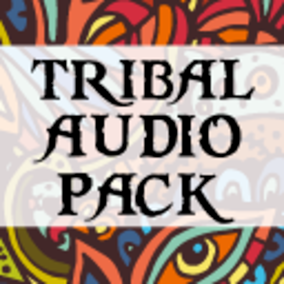 A collection of Tribal sounds. Loop-able music and SFX.