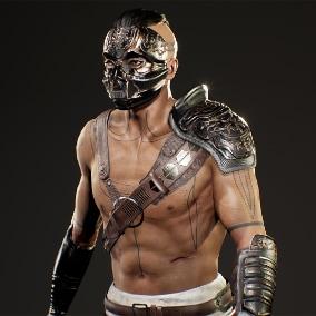 Realistic Modular Tribal Warrior