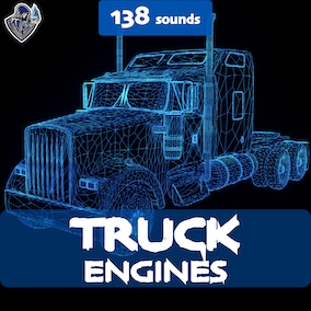 A sound package of truck engines with 138 sound effects, designed in a realistic style. Great for truck and bus engines.