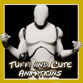 Set of Idle animations best for background characters and selection screens