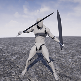 This is a set of 31 animations for TwinSword.