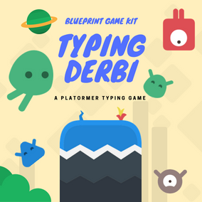 Typing Derbi is a 2D action packed Platformer / Typing game with lots of custom functionality, smooth 2d gameplay, clean animations, and easy to edit blueprints.