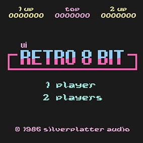 Retro 8-Bit UI sounds effects library