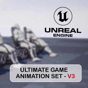The Ultimate game animation Set V3 - New version