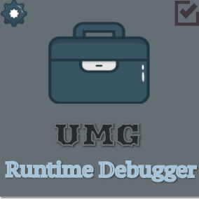 UMG Runtime Debugger is a practical plugin, used to help developers debugging UMG layout at runtime easily.