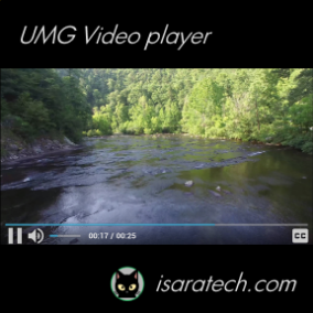 Customizable UMG Video Player for Unreal Engine 4