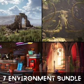 Get 7 Of Our Best Selling Environments For A One Time Price!