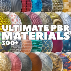 The Ultimate PBR Materials is the one-stop, drag-and-drop solution to your texture and material needs. Current status: 300+. Expanding soon to 500.