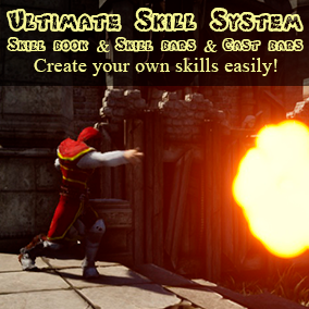 Ultimate Skill System provides tools for easy creating your own skills.