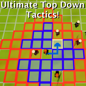 Ultimate Top Down Tactics is the best starting point for creating your own top down tactics game. With the use of the engine's long list of customizable settings you can adjust how the game plays, until you achieve the user experience you desire.