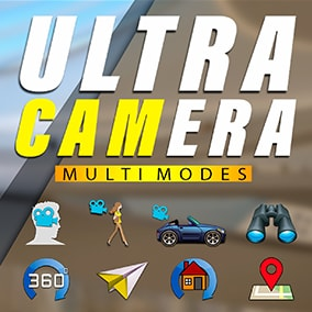 Ultra Camera Mode - This is a ready-made solution for game creators, realtors, and real estate developers.