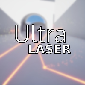 A reflective laser with redirector.