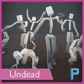 High quality animation set using Unreal Skeleton.