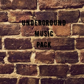 Underground Music Pack this is a set of 12 high quality tracks