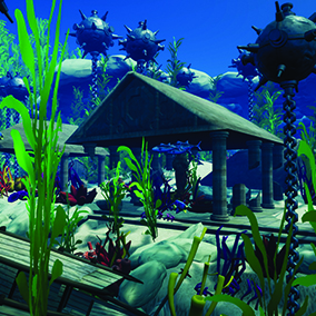 Captivate the audience of your next project with the enigmatic deep sea world found in the Underwater Adventure asset pack.