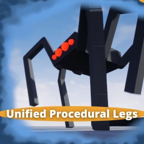 Create AAA quality procedural animations. A complete framework for creating procedural legs and body motion. 100% implemented in Blueprints and fully customizable, with over 50 base variables to modify and fine tune.