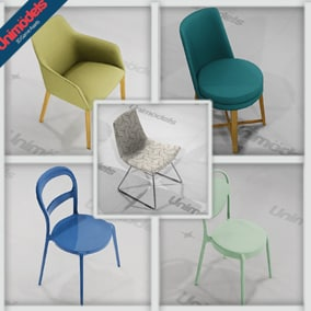 10 Modern chairs and tables for interior design