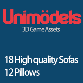 18 high quality sofas and 12 pillows