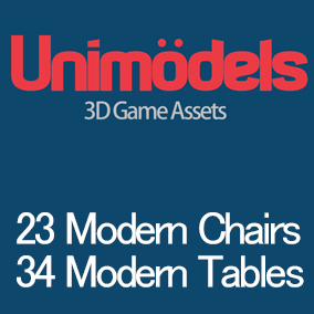 23 high quality chairs and a lot of tables