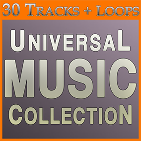 BIG LIBRARY (6 Packs, 30 Tracks + Loops) of High Quality music! Low price!